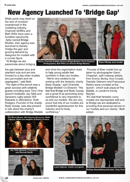 London Business Journal January  Issue